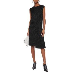 Acne Studios Danya Black Floral Dress Sz 6